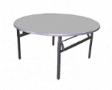 EAZIFOLD Round Table - Grey Colour - 1200(DIA) x 760(H)