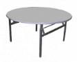 EAZIFOLD Round Table - Grey Colour - 900(DIA) x 760(H)