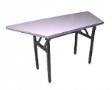 EAZIFOLD Trapezium Table - Beech Colour
