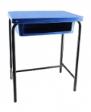 SKOLAR Plastic Table - Shell Blue