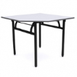 WOODSIDE Corner Table - Foldable table for corners. - Beech Colour