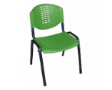 PLASTO Basic Chair - Shell Green
