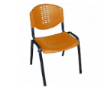 PLASTO Basic Chair - Shell Orange