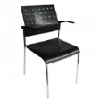 PLASTO ChairDLX - Shell Black