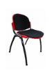 EAZI Padded Chair DLX - PP Shell Black