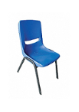 PLASTO Bucket Chair PP Shell - Shell Blue