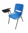 PLASTO Tablet Chair PP Shell Blue