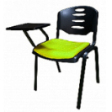 EAZI Tablet Chair With Writing Top & Seat Padded Cushion - Apple Green