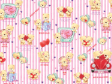 30 x Decorative Valentines Day Wrapping paper (WP984)