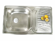 Single Bowl & Single Drainer (BD 8650/6 SBF)