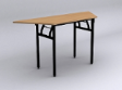 EAZIFOLD Trapezium Table - Beech Colour