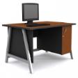 GRETEL Solo Computer Table V1 - Cherry Colour