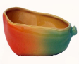 Claytan Fine China Serving Wares Fruits Collection - Papaya