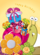 10 x Handmade Birthday Greeting Cards (HC226)