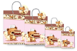 20 x Customized Print Paper Gift Bags Small (PB91)