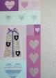 10 x Handmade Valentine Greeting Cards (HC117)