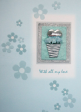 10 x Handmade Valentine Greeting Cards (HC119)