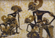 Batik Painting Collection - Shadow-graph  (Wayang Kulit)