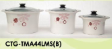 Crock Pot Set 5L, 3L & 1.5L ( 3 Biji / Set )