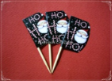 Christmas Party Supply Toothpick Flag Food Pick Design 1