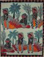 Batik Painting Collection-Men and women with banana 男女与芭蕉