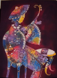 Batik Painting Collection-Sita 演奏家 Sita performer