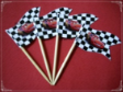 Disney Cars Theme Party Supply Toothpick Flag Food Pick Design 1