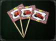 Disney Cars Theme Party Supply Toothpick Flag Food Pick Design 2