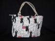 FB01 Big cats fashion bag