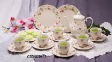 Dinner Sets and Tea Sets - Floret Pink 620617