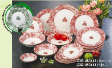 Dinner Sets and Tea Sets - Isabella 480615(P)