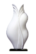 The White Collection Kebaya Sculpture Lamp Series 03.