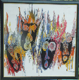 Batik Painting Collection- Abstract Art