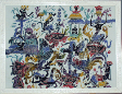 Batik Painting Collection- People and Living Life
