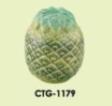 Clay Coin Box - Pineapple