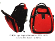 Laptop Backpack B306 Red