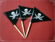 Pirate Theme Party Supply Toothpick Flag Food Pick Design 2