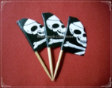 Pirate Theme Party Supply Toothpick Flag Food Pick Design 3