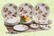 Dinner Sets and Tea Sets - Wild Rose 300616