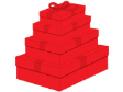 10 x Decorative Gift Boxes Medium (CB65M)