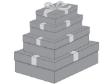 5 x Decorative Gift Boxes Large Size ( CB67L )