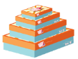 10 x Decorative Gift Boxes Large Size (CB73)