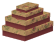 10 x Decorative Gift Boxes Extra Large Size (CB76)