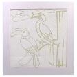 Enggang Bird Batik Kit (Colouring for Kids)
