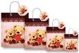 10 x Customized Print Paper Gift Bags Medium (PB78)
