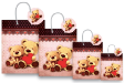 10 x Customized Print Paper Gift Bags Large(PB78)