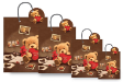20 x Customized Print Paper Gift Bags Small (PB83)