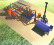 Pyrolysis Waste Tyre Machine