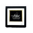 Tepak Sireh in Wood Frame (Gold)