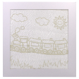 Train Batik Kit (Colouring for Kids)